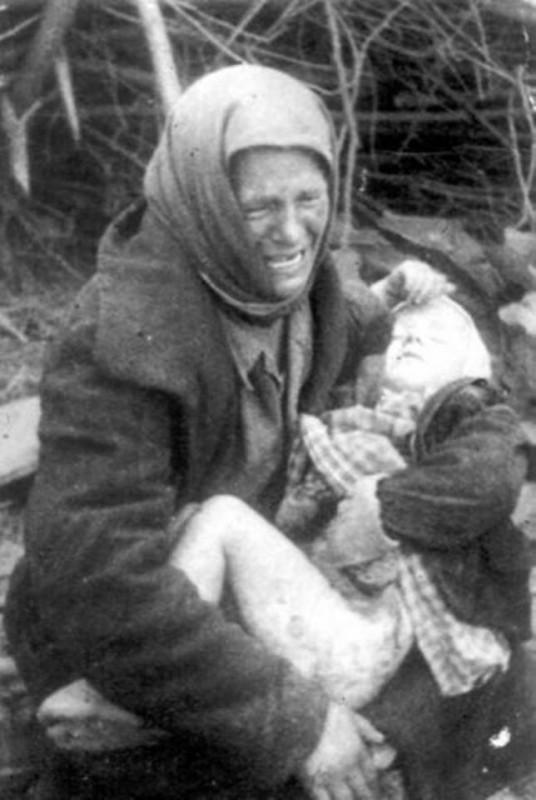 Только за одно то, что вы делали с детьми, Красная Армия могла уничтожить Германию