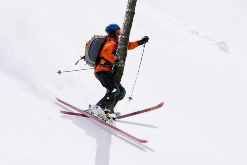 Для, картинки на горных лыжах прикольные