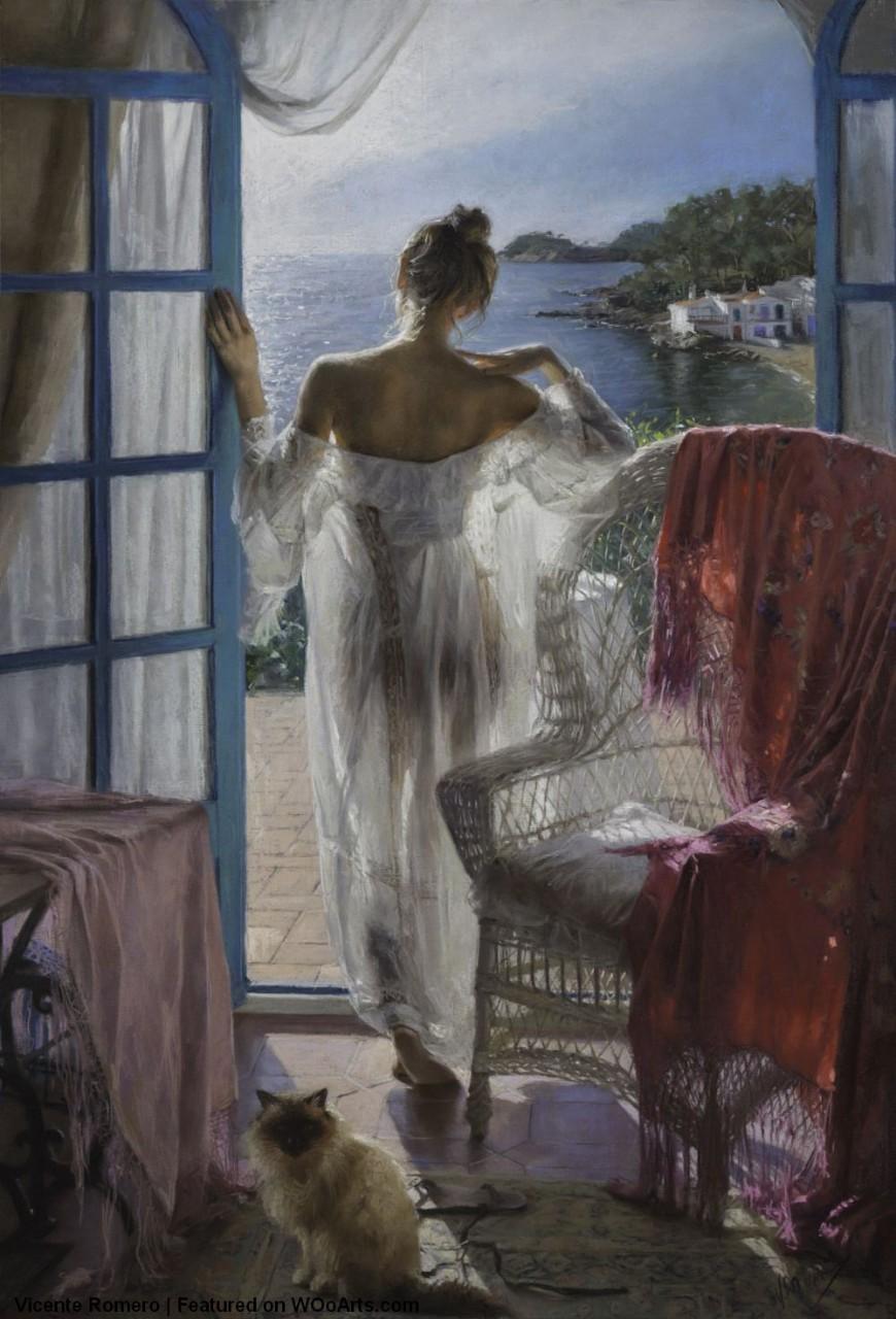 Этот испанский художник - единственный в мире, кто умеет рисовать свет. Смотрите сами Живопись