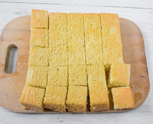 Лемингтон – австралийский бисквитный десерт сладкая выпечка