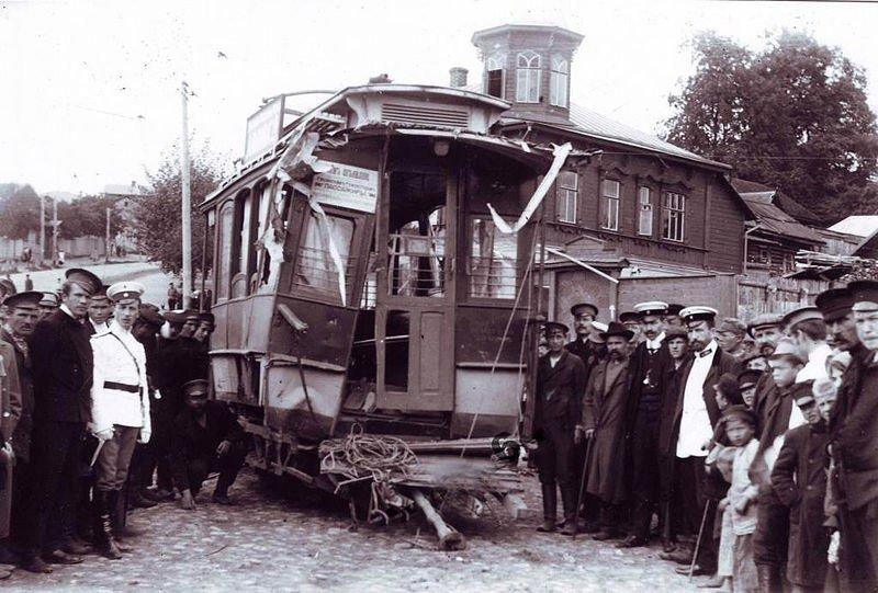 Трамвайные аварии в СССР