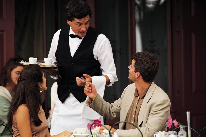Прикольные картинки о официанте