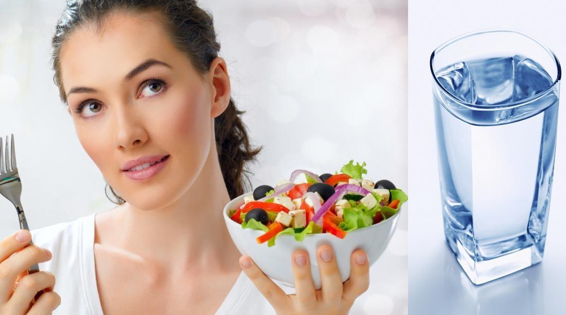 диета с водой до еды
