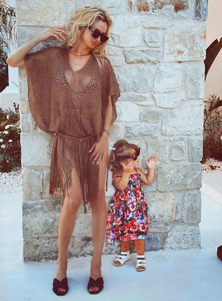 Светлана Лобода опубликовала редкий снимок младшей дочери Тильды Дети,Дети знаменитостей