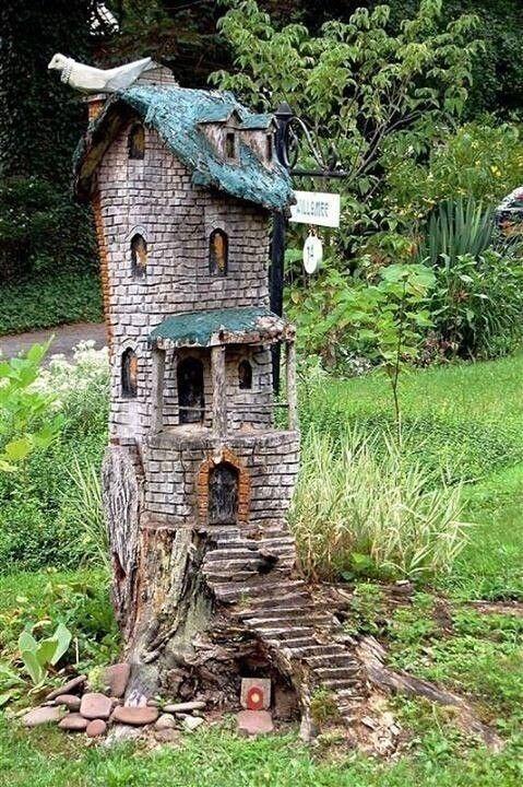 Из старых пней для любимой дачи декор,для дома и дачи