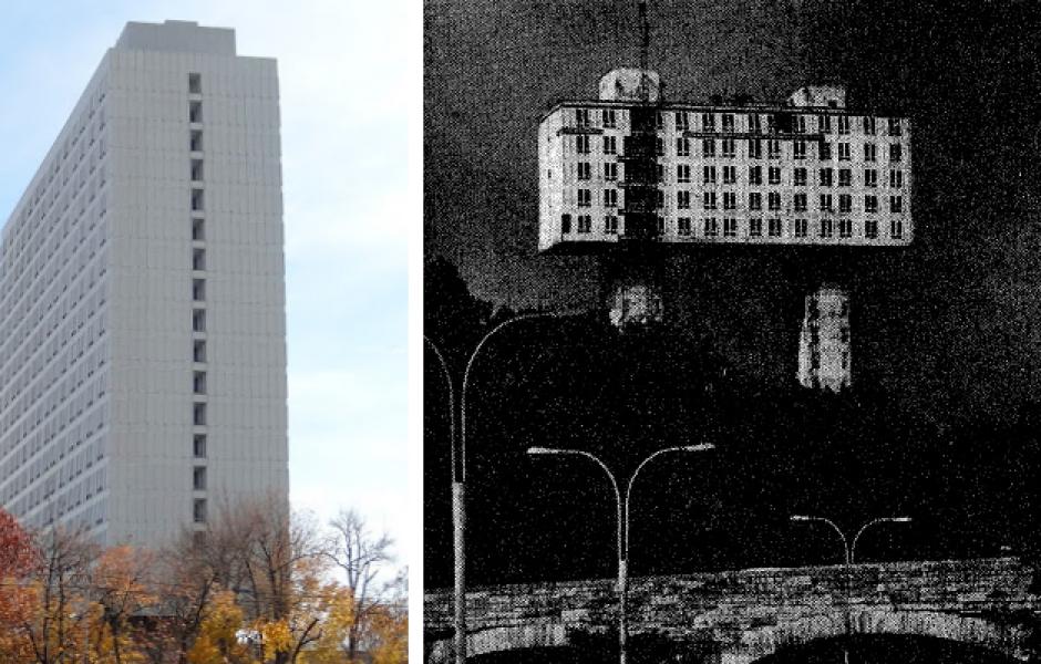 Необычное здание в США, которое принадлежит России архитектура,ремонт и строительство