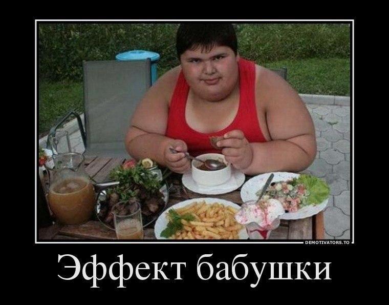 Демотиваторы прикольные про толстых