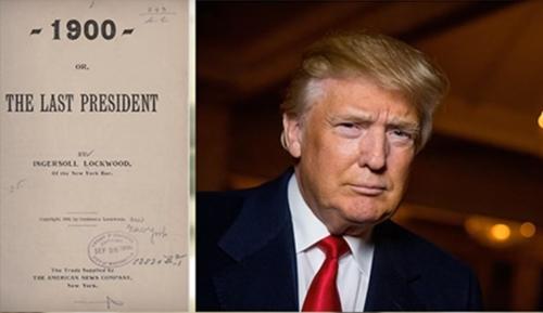 Трамп – последний президент США. Так написано в очень старой, загадочной фантастической книге