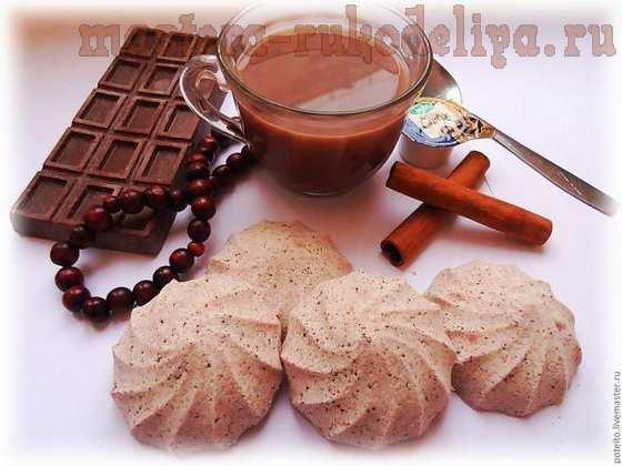 Бомбочки для ванн с какао и сливками