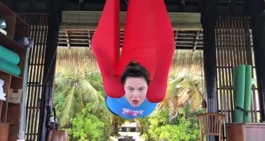 Екатерина Андреева на курорт…