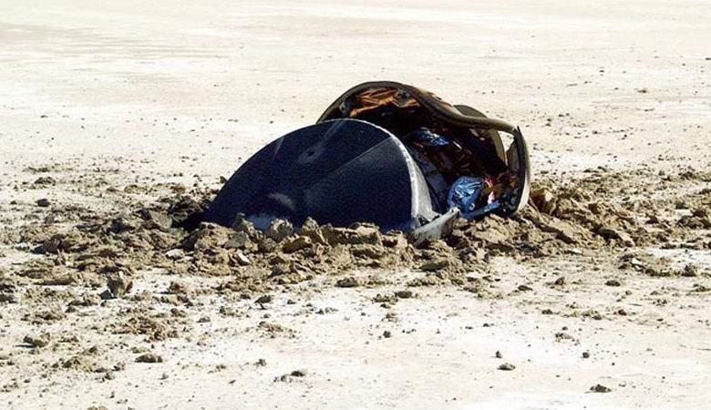 НАСА опубликовало фото «разбившейся летающей тарелки» в пустыне
