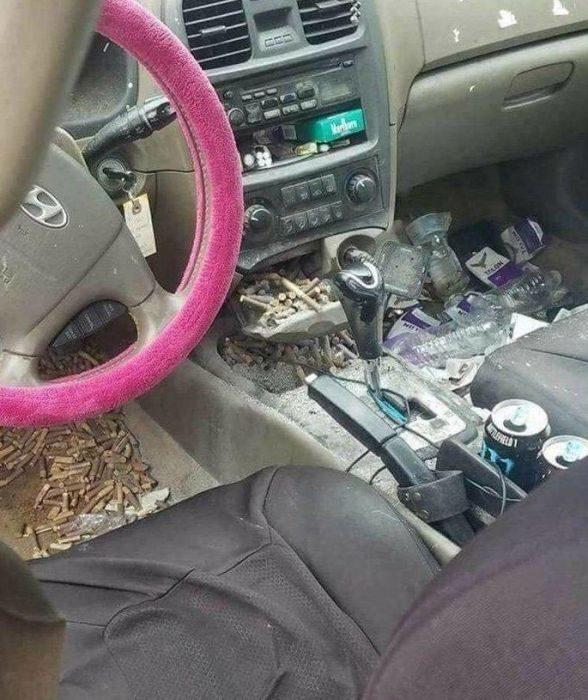 Когда автомобиль стал помойкой