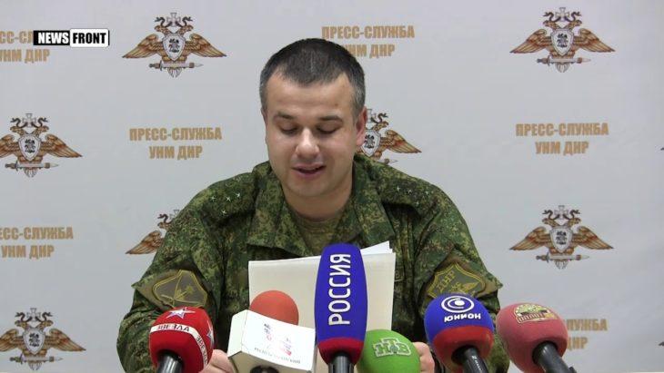 ДНР: британские инструкторы требуют от Украины осуществить химатаку с реальными жертвами