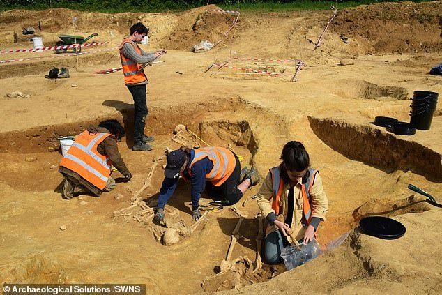 Загадка обезглавленных скелетов римской эпохи в Саффолке Англия, Скелет, Обезглавливание, Культ, Археологи, Археология, Длиннопост