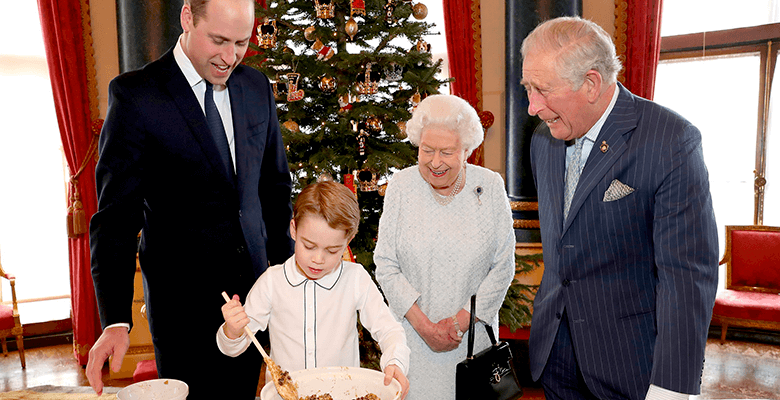 Принц Джордж приготовил рожд…