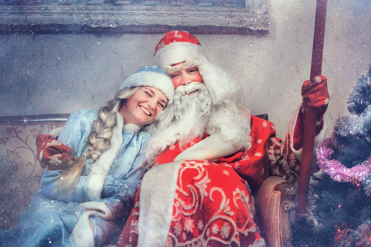 Я влюбилась в Деда Мороза...