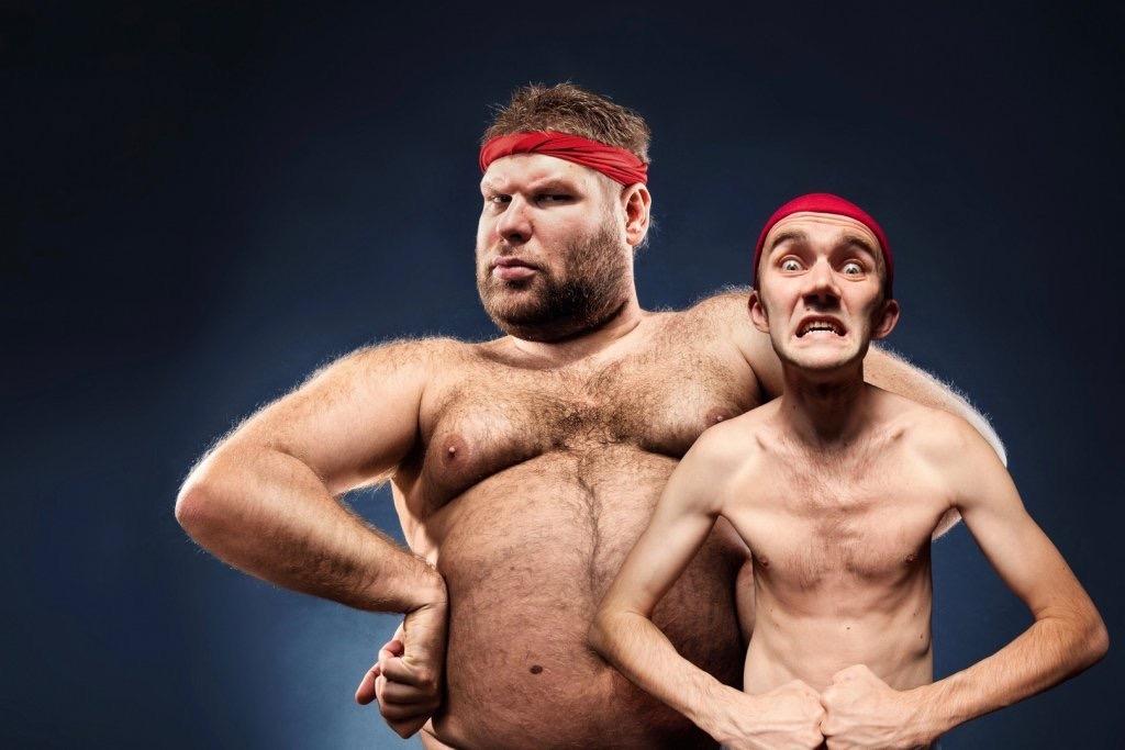 Смешные картинки с сильными мужиками