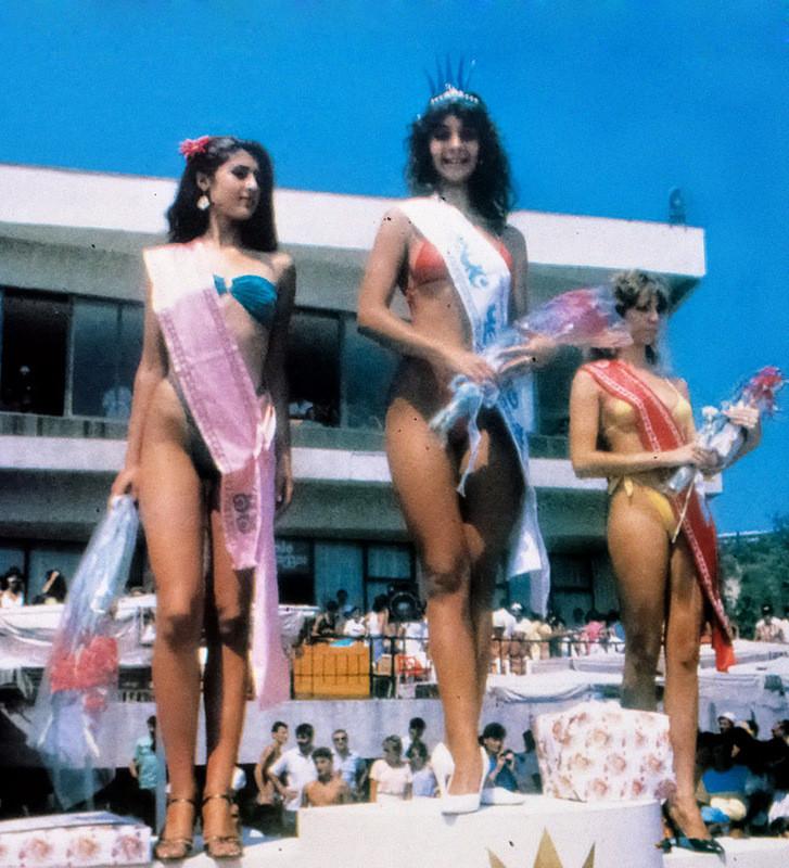 1989 г., Конкурс красоты Мис Черно море, Албена: СССР, болгария, быт, история, это интересно