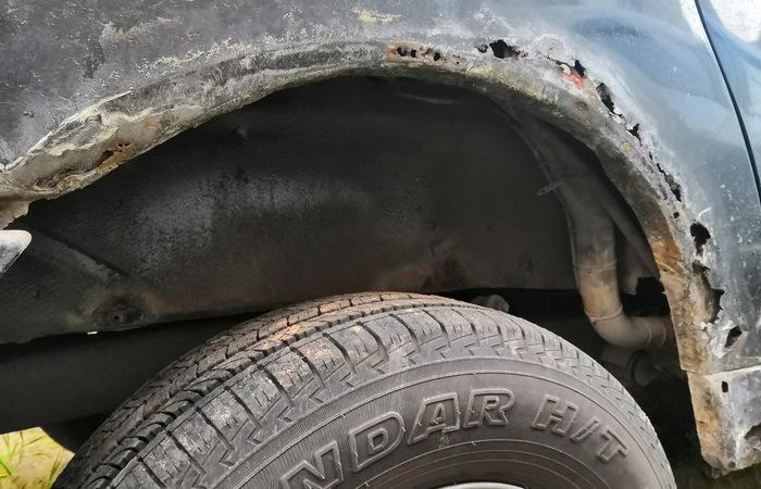 «Пятерка» ржавеющих автомобилей, которые не выдерживают наших погодных условий