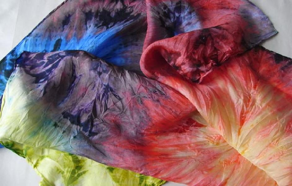 Секреты обработки тканей и ручной росписи