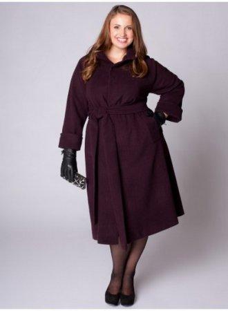 Модные длинные женские пальт…