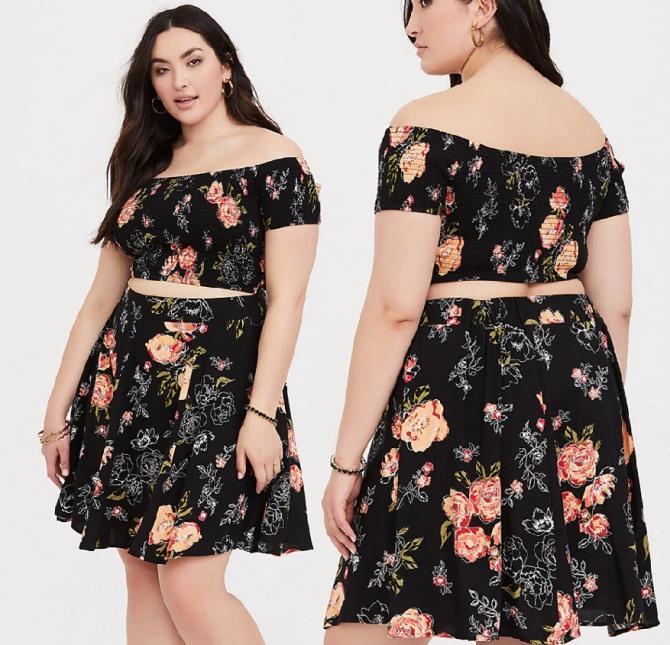 Фото новинок одежды для пышек на 2019 год от бренда Торрид (Torrid):
