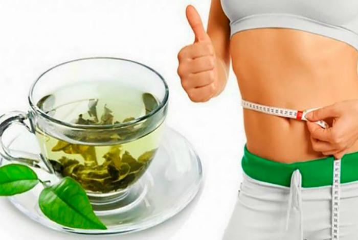 Зеленый чай для похудения.