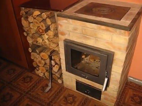 Оригинальная печь для дома