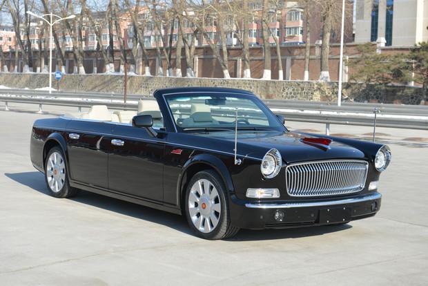 Как белорусы у китайцев парадный автомобиль купили