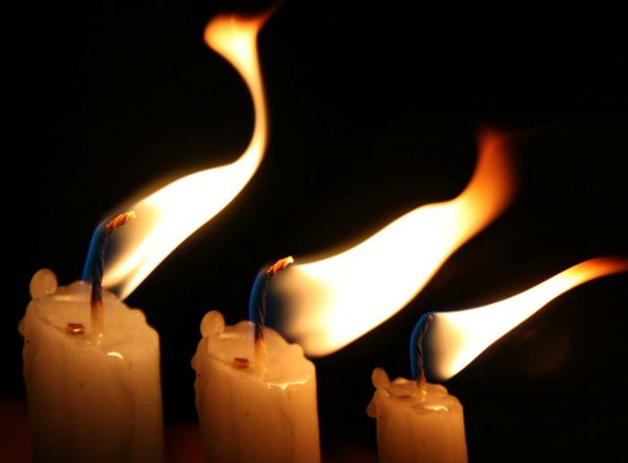 Свечи длительного горения.