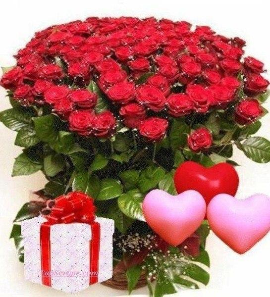 С днем рождения роза открытки
