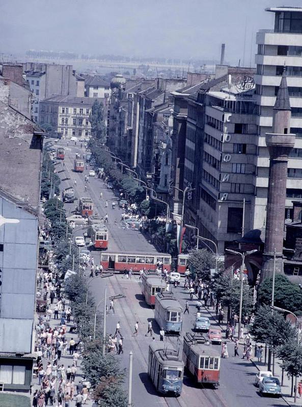 1964 г., София: СССР, болгария, быт, история, это интересно