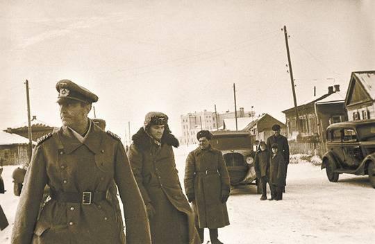 Немецкие офицеры, воевавшие …