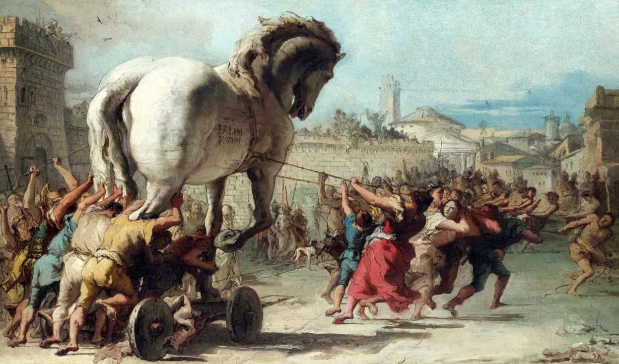 Троянская конница Запада геополитика