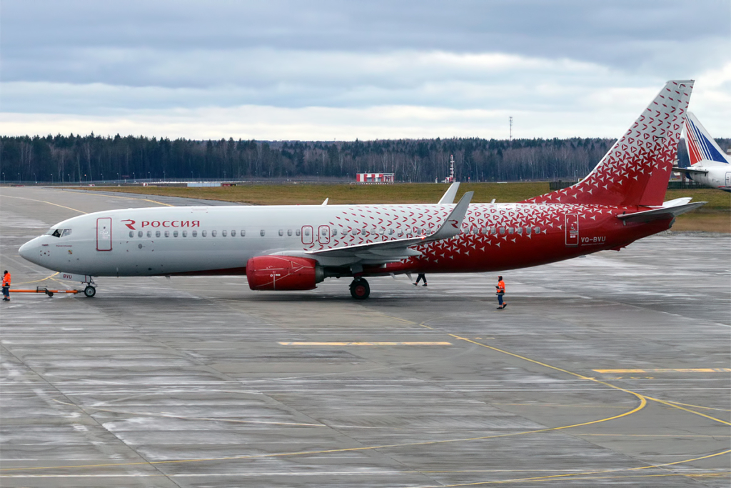 Boeing 737 для «Аэрофлота» сгнил из-за перекраски