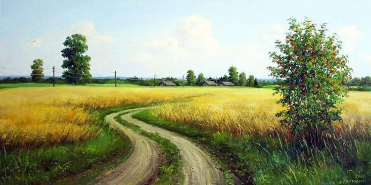 художник Сергей Курицын картины – 20