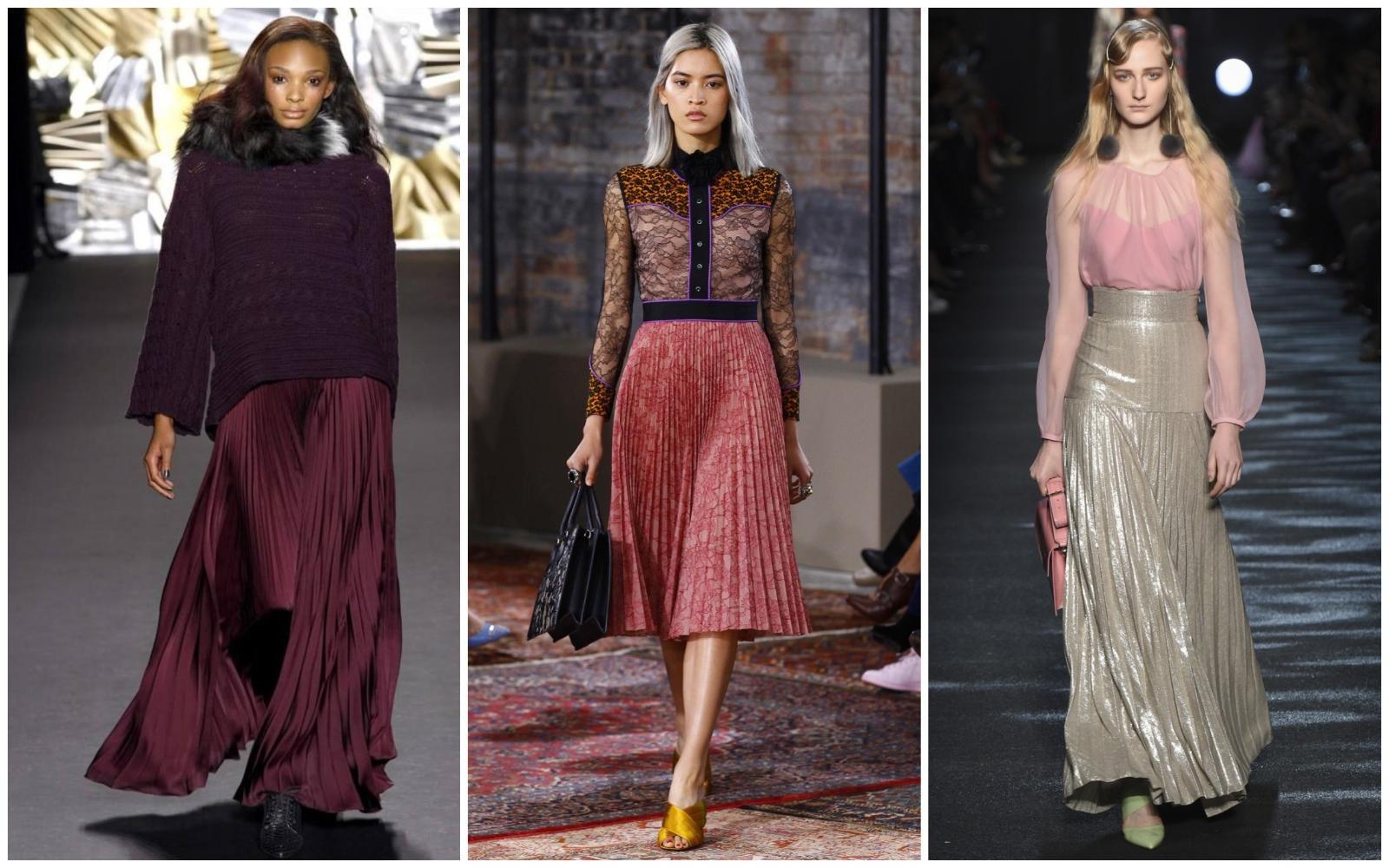 Хочу юбку! Плиссе, деним, кружево — выбираем самые стильные и крутые модели сезона