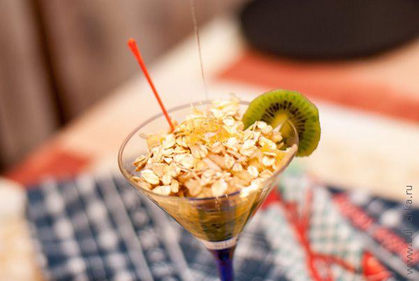 Салат «Фруктовая метелка» десерты,худеем