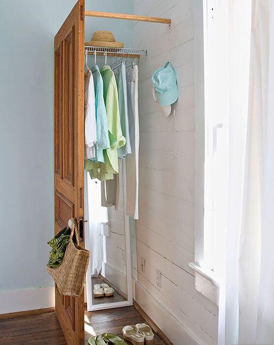 Мини-гардеробные в доме: 10 креативных идей