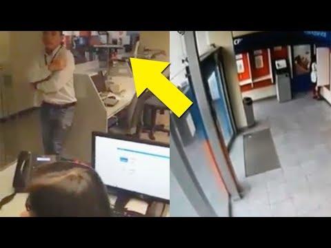 Фейк или хоррор? Работник банка в Перу заснял на видео призрак плачущей девочки