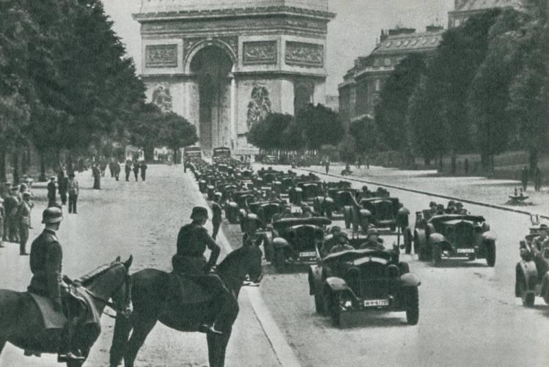 Как Гитлер в 1940 году покорял Европу история