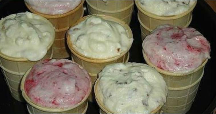 Домашнее мороженое со вкусом советского пломбира