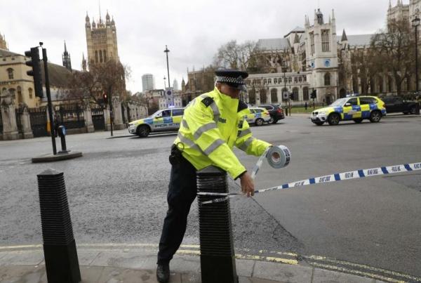 Стрельба рядом созданием парламента Великобритании— есть раненые