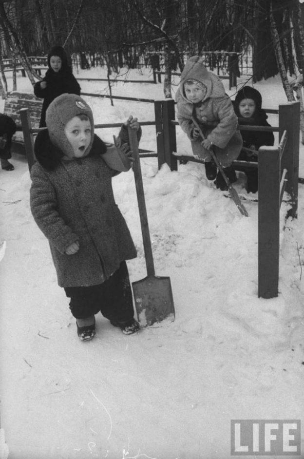 Советский детский сад 60-х годов глазами иностранного фотографа