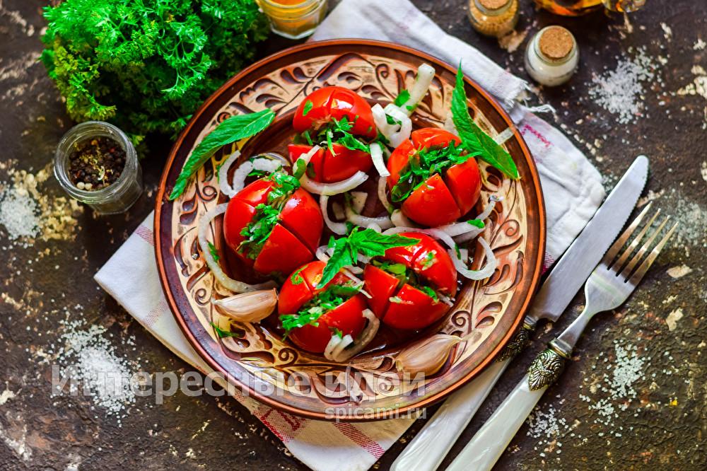 помидоры по-армянски быстрый рецепт