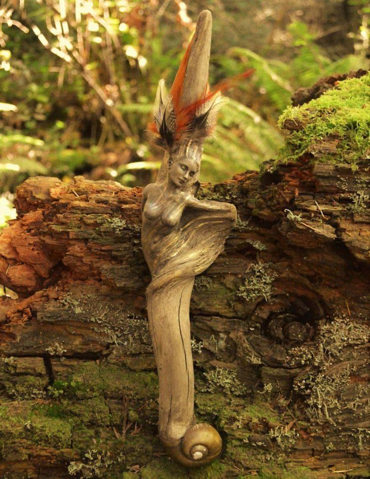 Фантастические скульптуры из старых коряг - вдохновляемся! дерево,домашний очаг,,коряги,рукоделие,своими руками,умелые руки