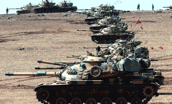 Турция заявила о готовности атаковать позиции США в Сирии