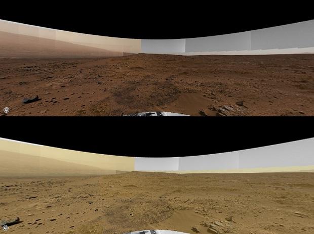 В сеть выложили панораму Марса в 1 гигапиксель