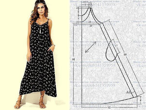 Идеи на лето и выкройки одежда,разное,шитье