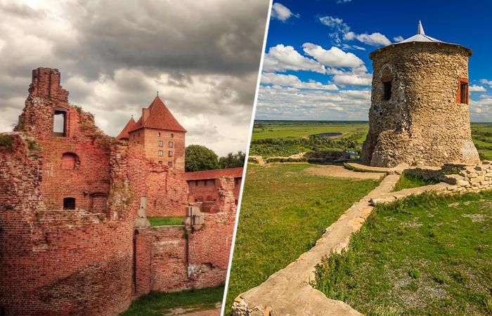 Замки России, не пользующиеся популярностью туристов